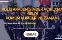 Polis Akademisi'nden Amirlik Açıklaması, POMEM...