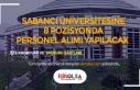 Sabancı Üniversitesi 8 Pozisyonda Açıktan Personel...