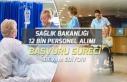 Sağlık Bakanlığı 12 Bin Personel Alımı İçin...