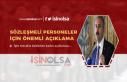 Adalet Bakanı Açıkladı: Sözleşmeli Personel...
