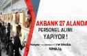 Akbank Tam, Yarı Zamanlı Gişe Yetkilisi ve 27 Farklı...