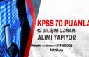 Eylül'de Kamuya En Az 70 KPSS Puanı ile 42 Bilişim...