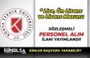 Konya Teknik Üniversitesi En Az Lise Mezunu Personel...