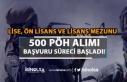 Lise, Ön Lisans ve Lisans Mezunu 500 Kadın PÖH...