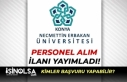 Necmettin Erbakan Üniversitesi KPSS ve YDS Puanı...