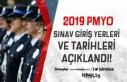 Polis Akademisi 2019 PMYO Sınav Giriş Yerleri ve...