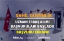 Sahil Güvenlik Komutanlığı Eylül Ayı Uzman Erbaş...