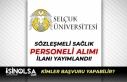 Selçuk Üniversitesi Sözleşmeli Hemşire, Sağlık...