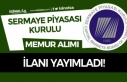 Sermaye Piyasası Kurulu 75 KPSS Puanı İle Memur...