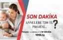 Son Dakika: Annelere 3 Aylık 7200 TL Projesi Kimleri...