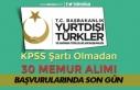 YTB KPSS Şartı Olmadan Memur Alımı Başvuruları...