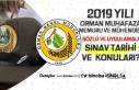 2019 Orman Muhafaza Memuru ve Mühendisi Sınav Tarihi...