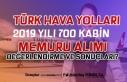 2019 Yılı 700 Kabin Memuru Alımı Değerlendirme...