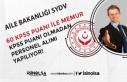 Aile Bakanlığı 11 SYDV KPS'siz personel ve...