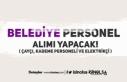 Belediye'ye İlkokul Mezunu Çaycı ve Kademe...