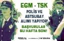EGM Polis, TSK Astsubay Alımı Yapıyor! Başvurular...