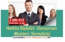 Halkla İlişkiler ve Müşteri Temsilcisi 2613 Personel...