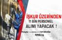 İŞKUR Üzerinden Yeni Haftada 11 Bin Personel Alınıyor...