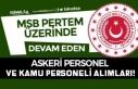 MSB PERTEM Üzerinde Kamu ve Askeri Personel Alımları