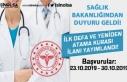 Sağlık Bakanlığı 2019 Yılı Yeniden Atama Kurası...