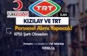 TRT ve Kızılay'dan KPSS'siz Personel Alım...