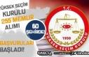 YSK 60 Şehir'de 255 Memur Alımı Başvuruları...
