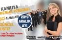 2019 Aralık Ayı Kamuya Memur Personel İşçi Alımları...