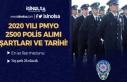 2020 PMYO Lise Mezunu 2500 Polis Alımı Tarihi ve...