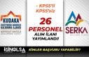 2 Kalkınma Ajansı SERKA ve KUDAKA 26 Personel Alacak!...
