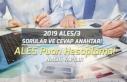 Ales 2019 Sonbahar Sınavı Puan Hesaplama! Ales Sorular...