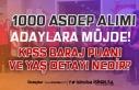 ASDEP 1000 Personel Alımında KPSS Baraj Puanı Yok!...