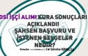 DSİ 500 İşçi Alımı Şahsen Başvuruda Tarih...