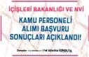 İçişleri Bakanlığı ve NVİ Kamu Personeli Alımı...