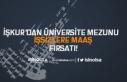 İŞKUR'dan Üniversite Mezunu İşsizlere Maaş...
