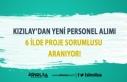Kızılay'dan Yeni Personel Alımı: 6 İlde Proje...