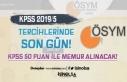KPSS 2019/5 MGM Memur Alımı Tercihleri Sona Eriyor!...