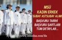 Lise Mezunu Kadın, Erkek Subay ve Astsubay Alımı!...