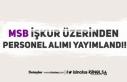 Milli Savunma Bakanlığı MSB İŞKUR'da Personel...
