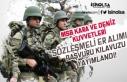 MSB Kara ve Deniz Kuvvetleri Sözleşmeli Er Alımı...