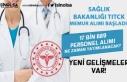 Sağlık Bakanlığı TİTCK Memur Alımı Başladı!...