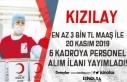 Türk Kızılayı En Az 3 Bin TL Maaş İle 6 Yeni...