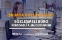 Türkiye İş Kurumu Genel Müdürlüğü Büro Personeli...