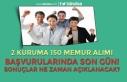 2 Kuruma ( MAPEG ve BDDK ) 150 Memur Alımında Son...