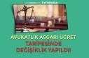 Avukatlık Asgari Ücret Tarifesinde Değişiklik...