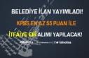 Belediye'ye KPSS 55 Puan İle Kadın Erkek İtfaiye...