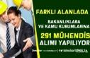 Farklı Alanlarda KPSS Puanı İle 291 Mühendis Alımı...