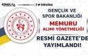 Gençlik ve Spor Bakanlığı (GSB) Memur Alımı...