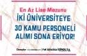 İki Üniversiteye KPSS En Az 50 Puan İle Personel...