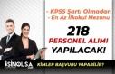 İSPER KPSS Şartı Olmadan Engelli ve Normal 218...