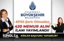 İstanbul Büyükşehir Belediyesi KPSS'siz 420...